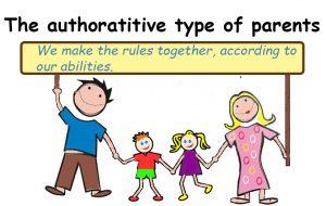 Types of parents: authoratitive parents