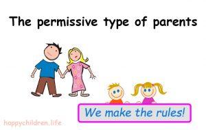 Types of parents: the permissive