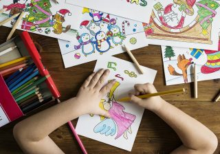 materials for toddler's art activities